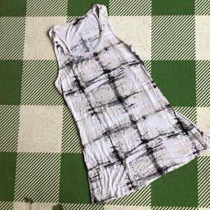 Rose & Olive tiedye long tank, could be short Dres